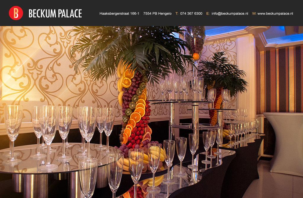 Beckum palace impressie - Entree decoratie ...